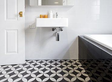 Choosing the perfect bathroom tile design